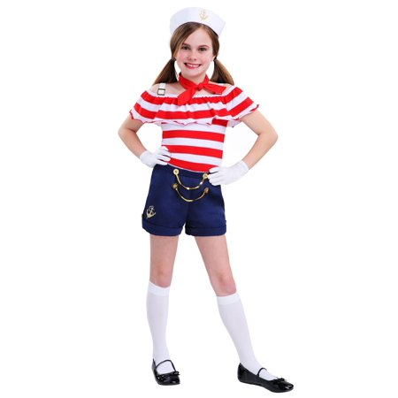 Sweetheart Sailor Girls Costume (Pin Up Sailor Girl Costume)