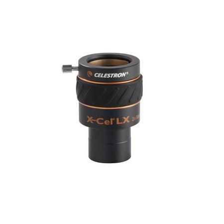Celestron X-CEL 2x Barlow Lens Telescope Eyepiece