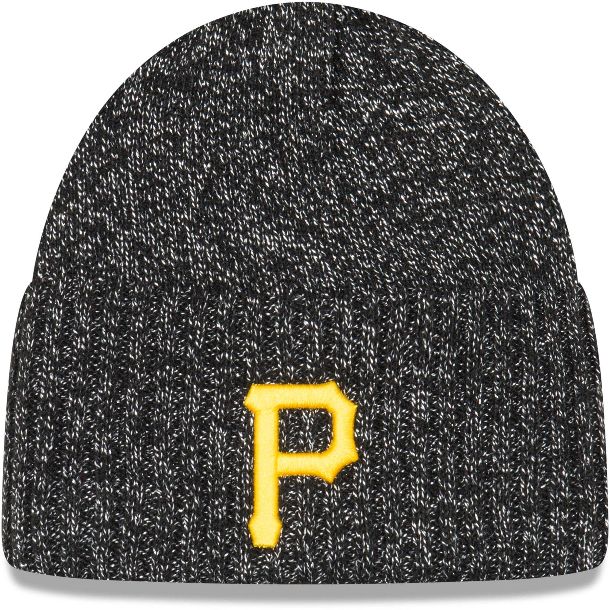 Pittsburgh Pirates New Era Women's Dazzle Knit Beanie - Black - OSFA