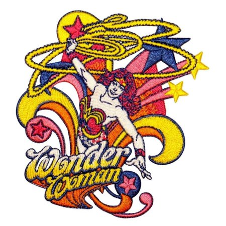 Amazon Herb (Wonder Woman Superhero Lasso Patch Diana Amazon Princess Comics Iron-On Applique)