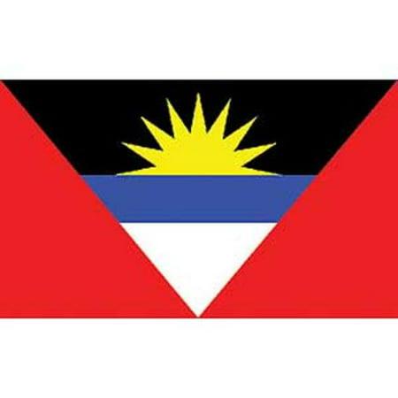 Antigua & Barbuda Flag On A Stick 12