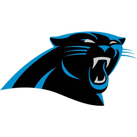 Carolina Panthers Fathead Logo Giant Removable Decal - No - Giants Logo Fathead Wall