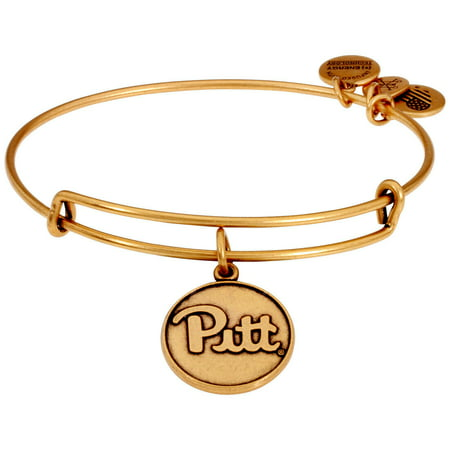 Alex And Ani University of Pittsburgh Charm Gold One Size Bracelet AS16CLC01RG