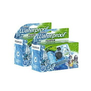Fujifilm Disposable QuickSnap Waterproof Pool Underwater 35mm Camera,