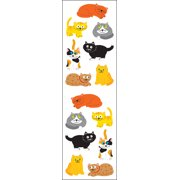 Mrs. Grossman's Stickers-Chubby Cats