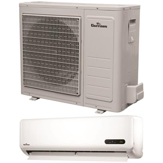 Garrison 2498564 22000 BTU Ductless Mini-Split Air Conditioner, Indoor Air Handler & Outdoor Condensing Unit