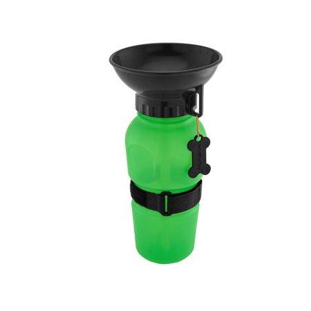 Highwave Auto Dog Mug - Green, 20 oz. BPA Free Puppy Travel Water