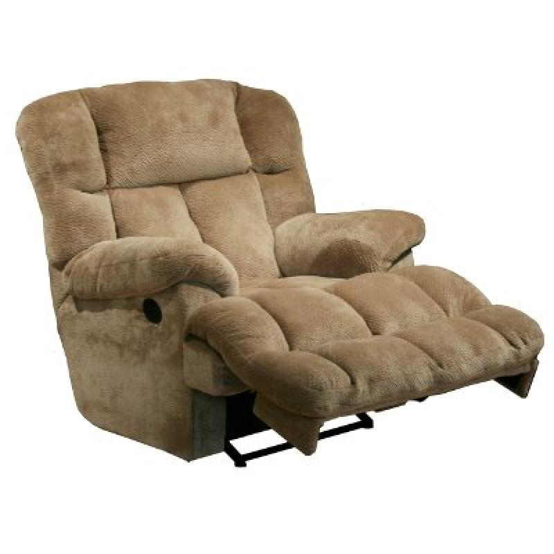 Catnapper Cloud 12 Power Chaise Recliner - Camel