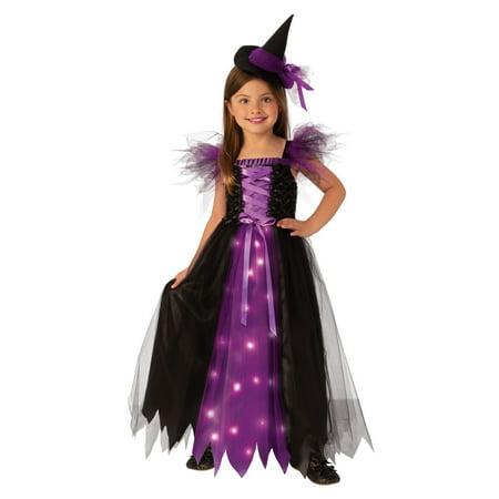 Children Witch Costumes (Halloween Fancy Witch Child)