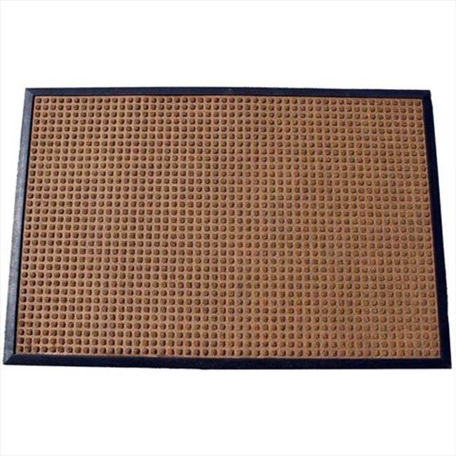 Durable Corporation 630S0034BN 3 ft.  W x 4 ft.  L Stop-N-Dry Mat in Brown