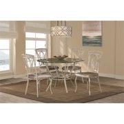 Hillsdale Furniture Napier 5-Piece Round Dining Table Set