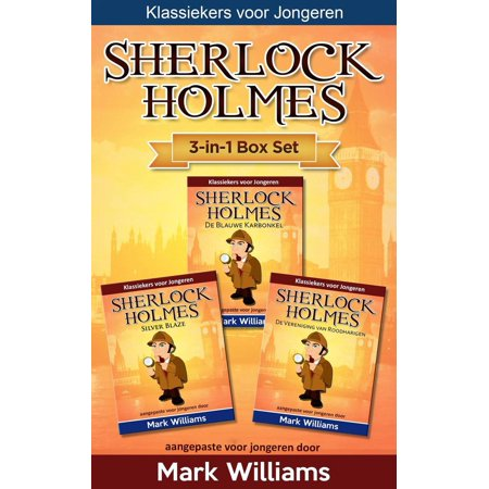 Sherlock voor Kinderen 3-in-1 Box Set door Mark Williams -