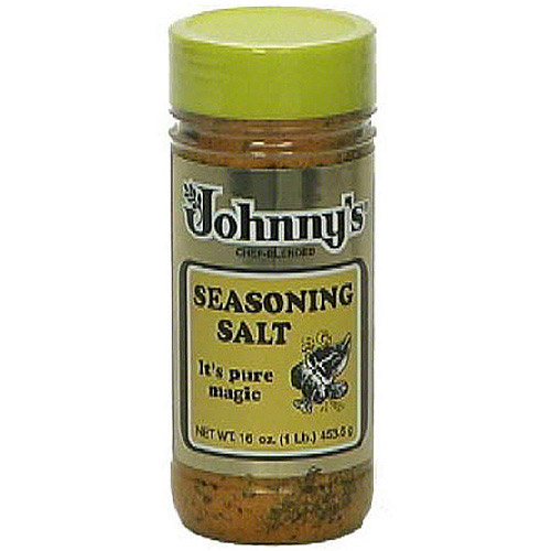 Johnny's Seasoning Salt, 16 oz (Pack of 12)