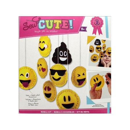 Colorbok Sew Cute Kit Mobile Emoji