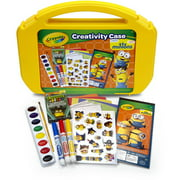 Minion Ultimate Art Case with Markers, Paint, Crayons, Coloring Pages  and Stickers