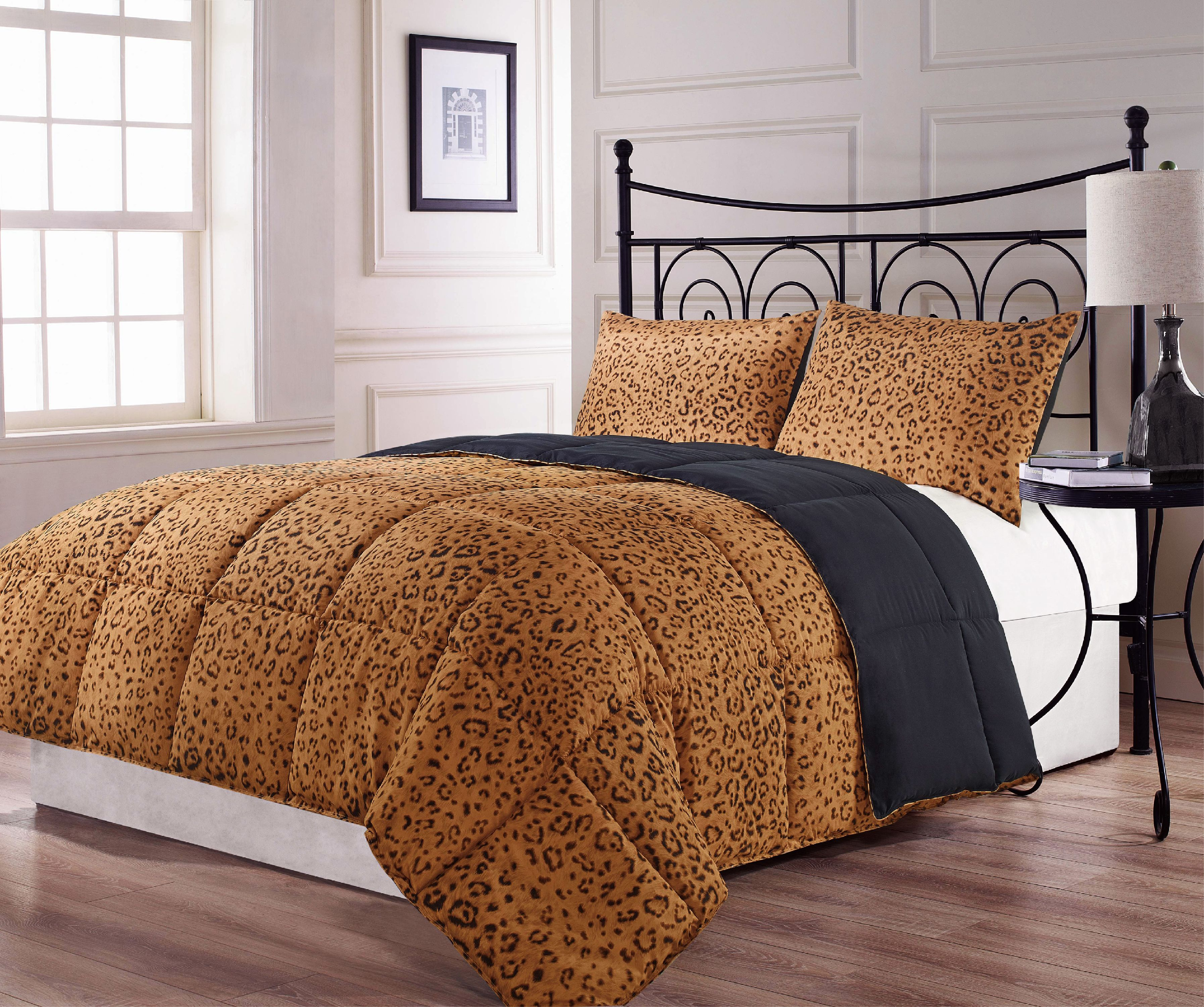 Animalia 2pc Comforter Set Twin Size Bed Reversible Down