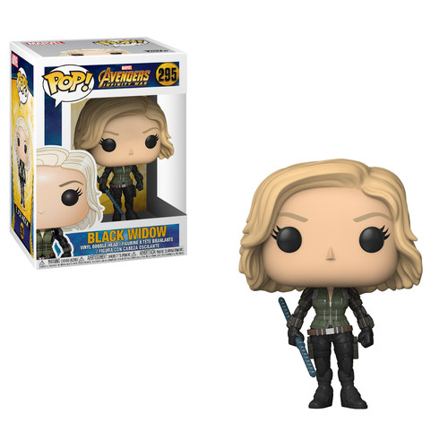 Funko POP! Marvel - Avengers Infinity War - Black Widow