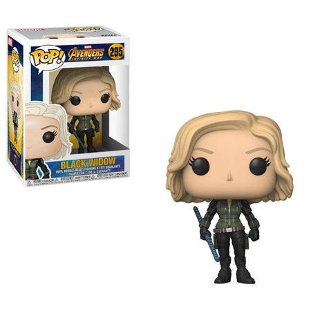 Funko Pop Marvel  Avengers Infinity War   Black Widow