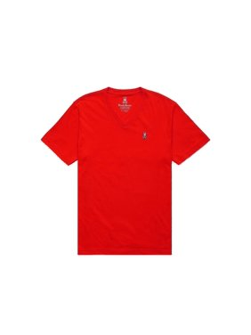 4ffeedc9639 Product Image Psycho Bunny Classic V-Neck Brilliant Red Men s Tee Shirt  B6U100CRPC-BRI