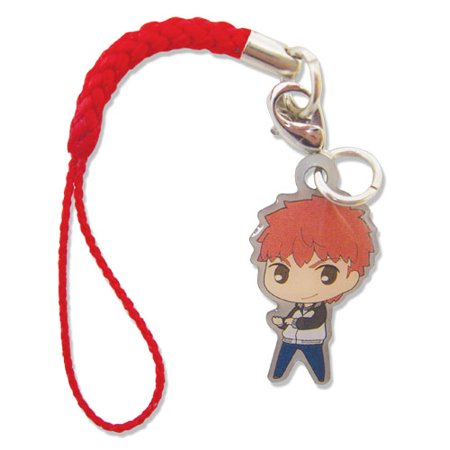 Cell Phone Charm - Fate/Stay Unlimited Blade Works - SD Shirou Metal