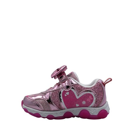 Minnie Mouse Toddler Girls' Lighted Athletic Shoe