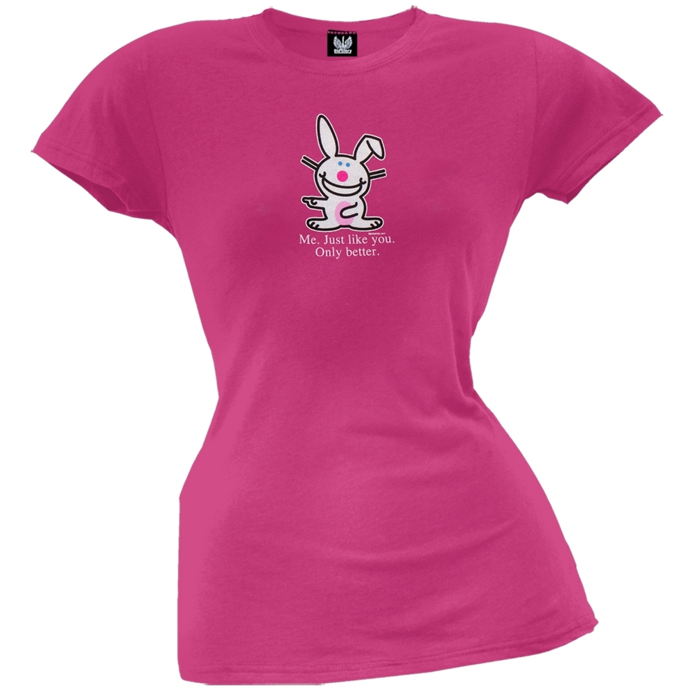 Happy Bunny - Me Just Like You Juniors T-Shirt