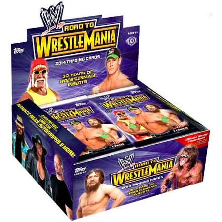 WWE Wrestling 2014 Road to WrestleMania Trading Card Box [Hobby Edition] ()