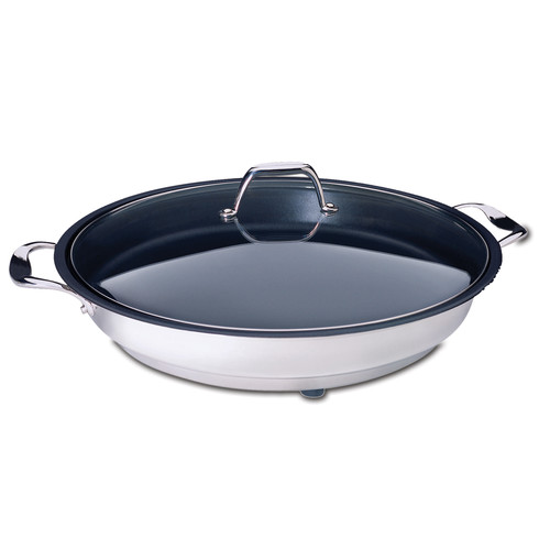 CucinaPro 16'' Classic Electric Nonstick Skillet with Lid