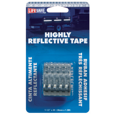Incom Manufacturing RE802 Silver Highly Reflective Tape
