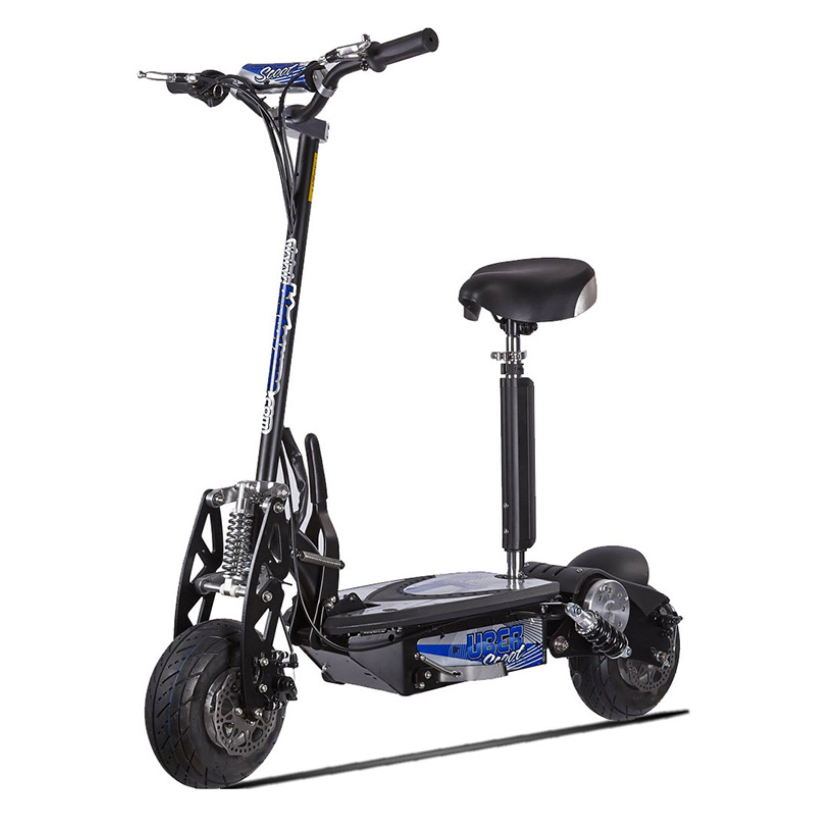 Stand Up Electric Scooter >> Uberscoot 1000w 36v Stand Up Electric Scooter With Seat Walmart Com