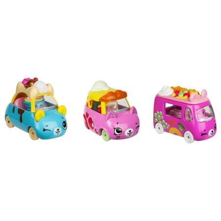 License 2 Play - Cutie Car 3 Pack, Dessert Drivers