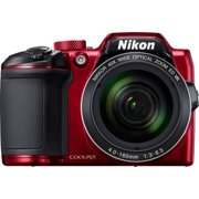 Nikon COOLPIX B600 16MP Digital Camera Full-HD 60x Optical Zoom (Red)