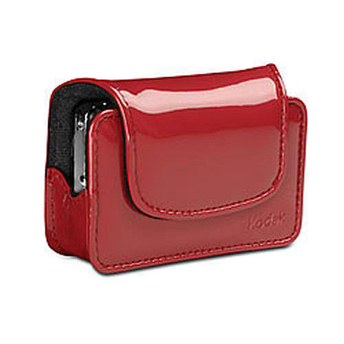 Kodak Chic Patent Camera Case - Red