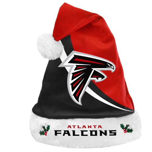 Forever Collectibles NFL Swoop Logo Santa Hat