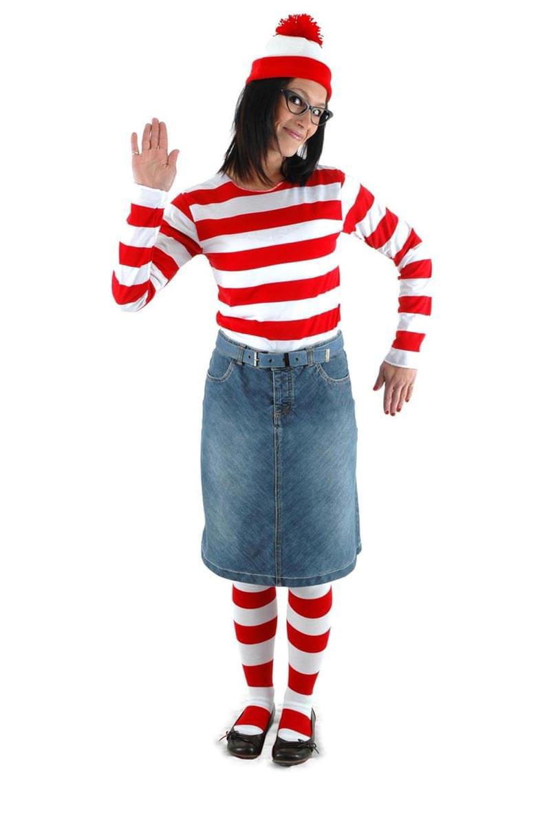 Where/'s Waldo Adult Costume Hat