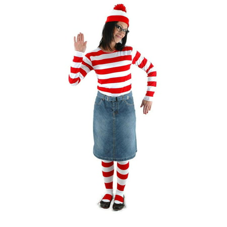 Where's Waldo Wenda Costume Kit (Where's Wally Wenda Costume Large)