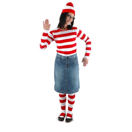Where's Waldo Wenda Costume Kit Adult for $<!---->