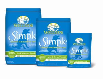 Wellness Simple Lamb and Oatmeal Formula Adult Dry Dog Food, 10 lb 8 oz by Wellness