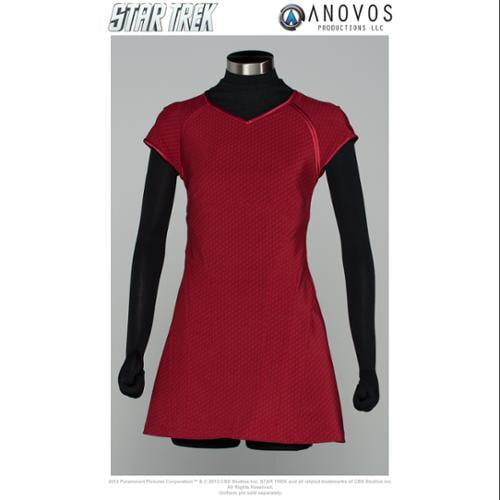 Star Trek The Movie Uniform Replica Adult: Uhura Red Dress X-Large