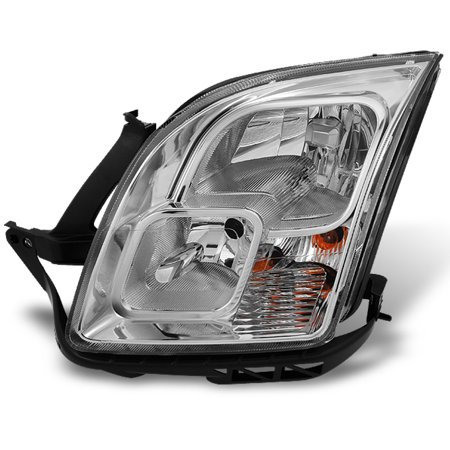 Ford Fusion Headlight Assembly (Fit 06-09 Ford Fusion Chrome Clear Headlight Front Lamp Driver Side)