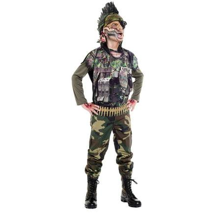 Morris costumes PM721036 Sergeant Splatter Child 4-6