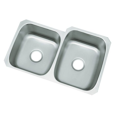 Sterling by Kohler McAllister® 11409 Double Basin Undermount Kitchen Sink