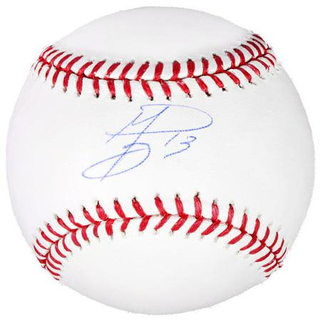 Texas Rangers Autographed Mini Helmet (Jurickson Profar Texas Rangers Fanatics Authentic Autographed Baseball - No Size)
