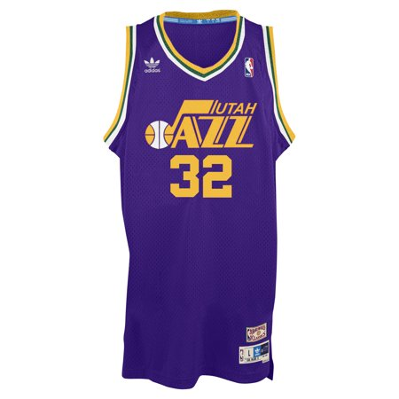 baeef6e4 Karl Malone Utah Jazz Adidas Soul Swingman Jersey (Purple) by