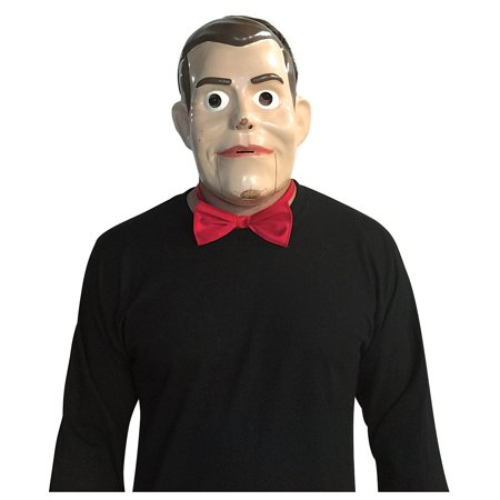 Slappy the Dummy Bowtie and Mask Adult Halloween Accessory - Test Dummy Costume