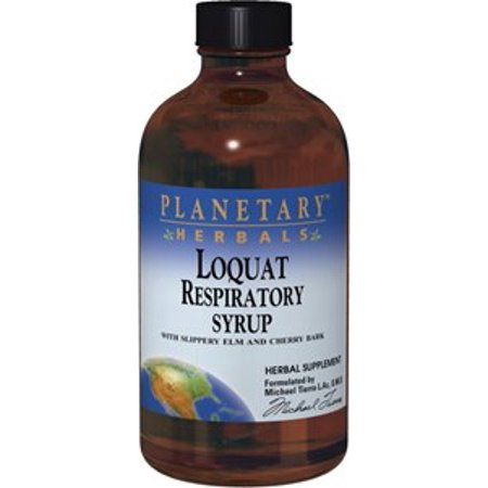 Planetary Herbals - Loquat Respiratory For Kids 4 oz Syrup 4