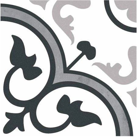 Visions 8 x 8 Ceramic Tile in Toreno White (10.76sqft/25 (Mexican Talavera Ceramic Tile)