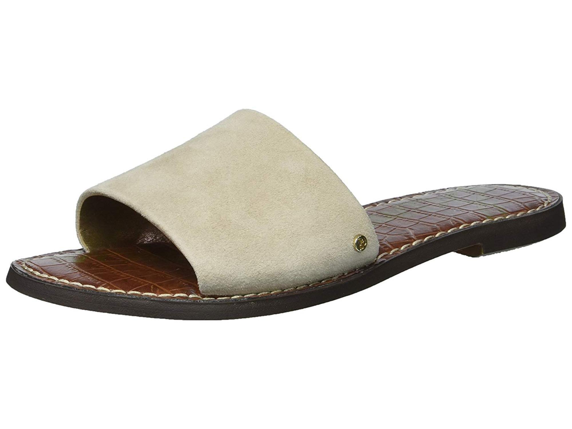 fb6dbffff05 Sam Edelman Women s Gio Denim Blue Suede Leather Sandal - 7.5M