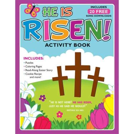 He Is Risen    Activity Book And Free Album Download