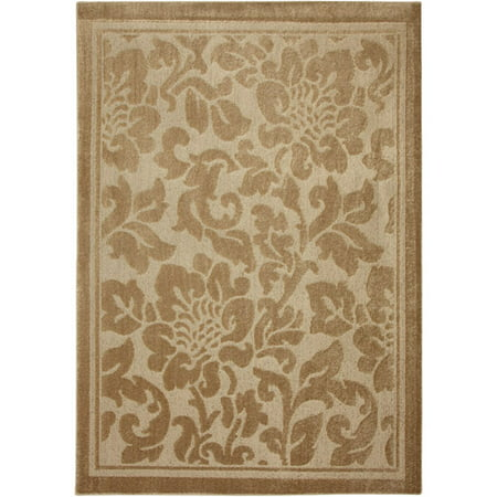Mohawk Home Bloom Garden Area Rug Apple Butter 60 Quot X 84